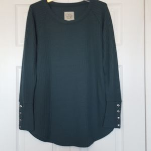 Chaser green thermal tunic size small